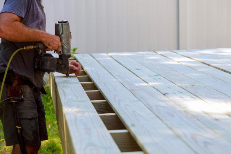 renovating a backyard