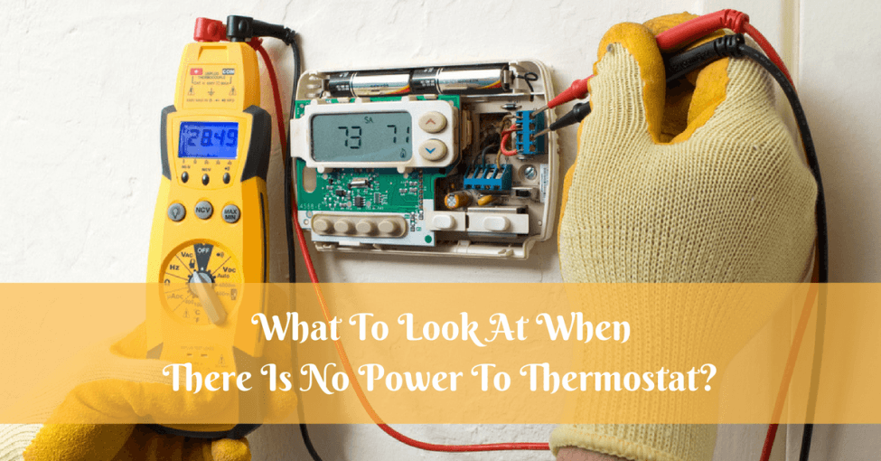 No-Power-To-Thermostat