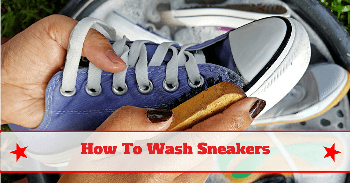 Simple and fast how to wash sneakers - How to clean shoes ...