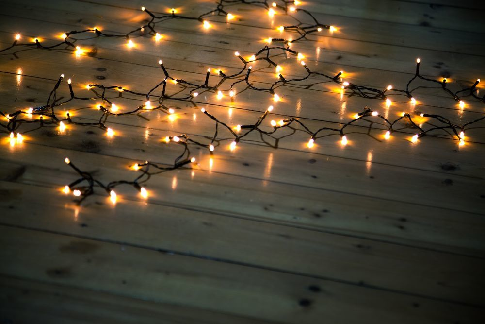 Find the needed length of string lights