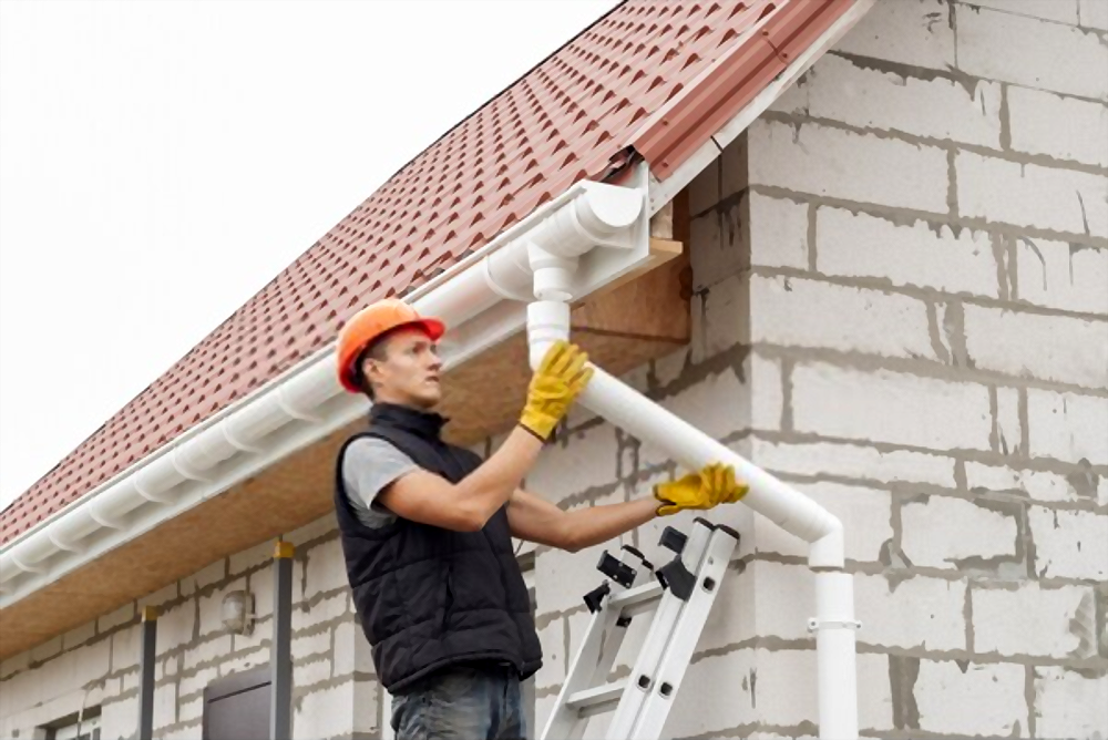 Install High-Quality Gutters and Piping Systems