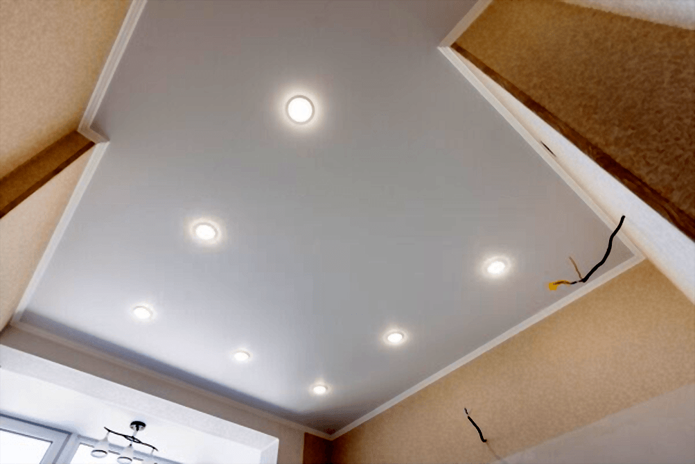 Kitchen ceiling LED lights