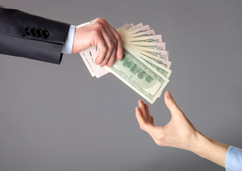 Amount Pay and Borrow