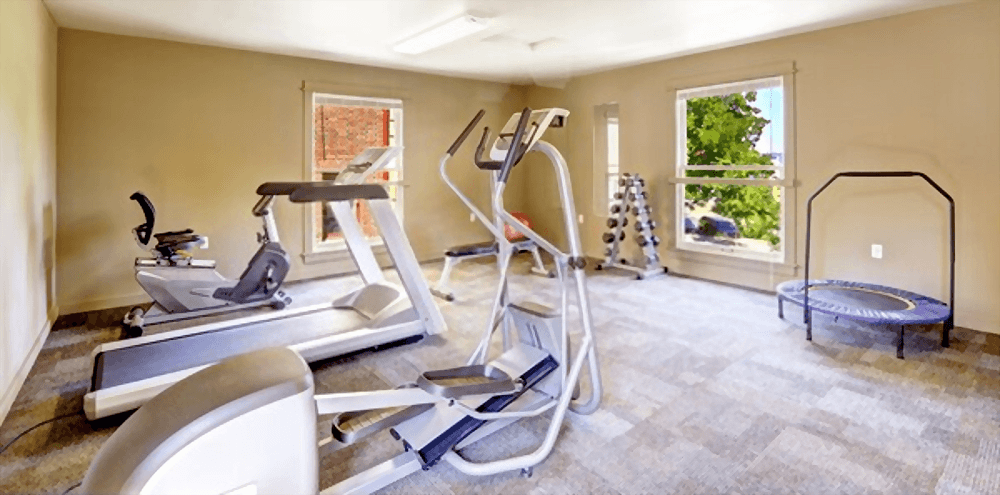 beauty home gym