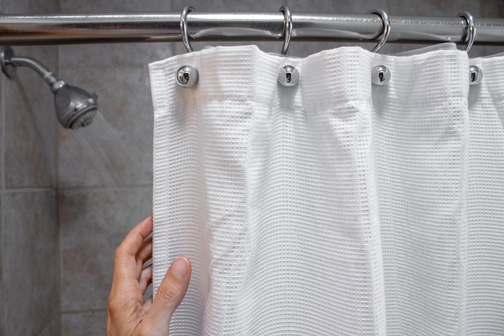 Shower Curtain open