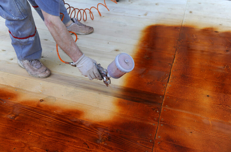 best paint sprayer for deck stain