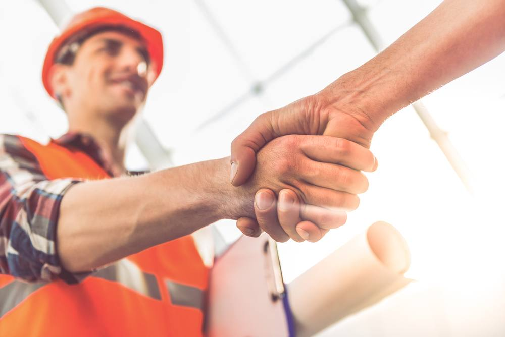 Interviewing roofers