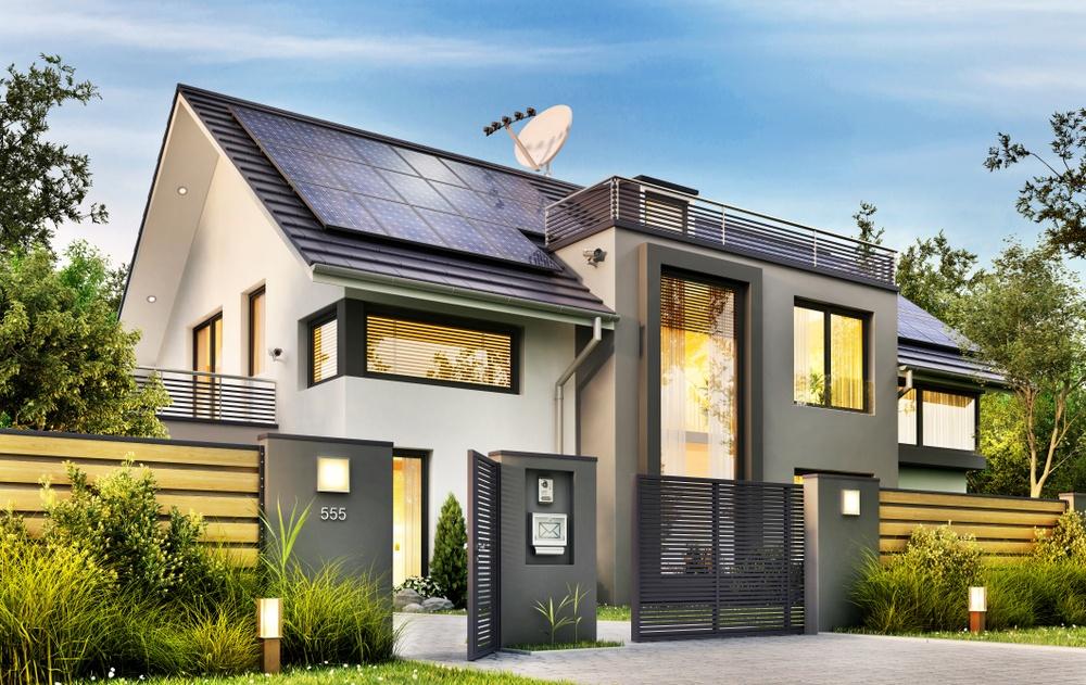 Solar Power On An Automated Gate